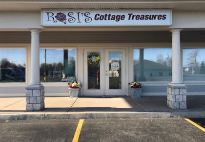 Rosis Cottage Treasures store front